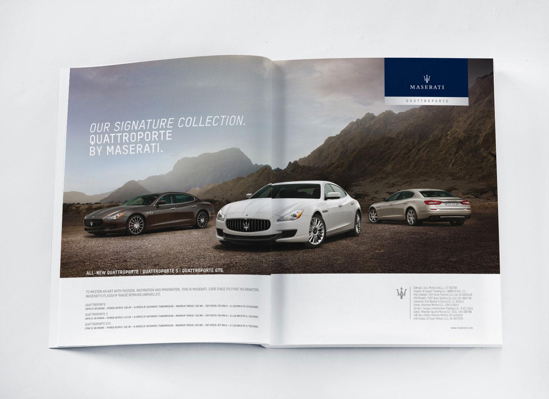 Maserati Press Ads