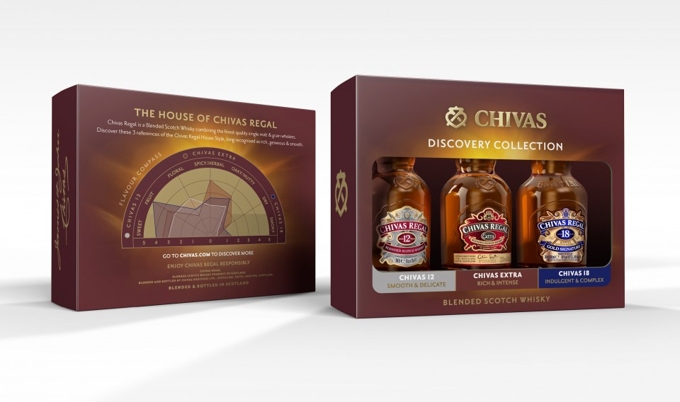 Chivas 5cl & 20cl Value Added Packs